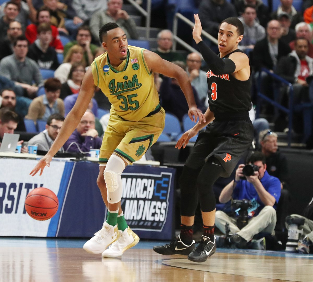 Notre Dame's Bonzie Colson. (James P. McCoy/Buffalo News)