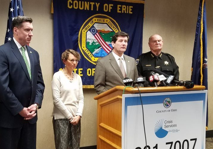 County officials announce seven suspected opioid deaths in 24 hours
