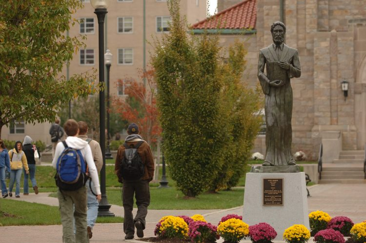 Enrollment at Canisius College climbed above 5,100 students in 2011, but the college has been shrinking ever since. (Sharon Cantillon/News file photo)