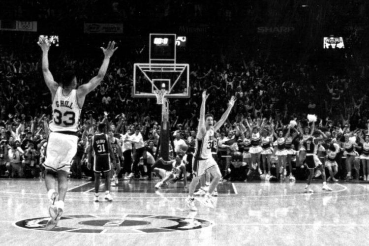 The shot: 25 years ago, Christian Laettner hit the swish for the ages