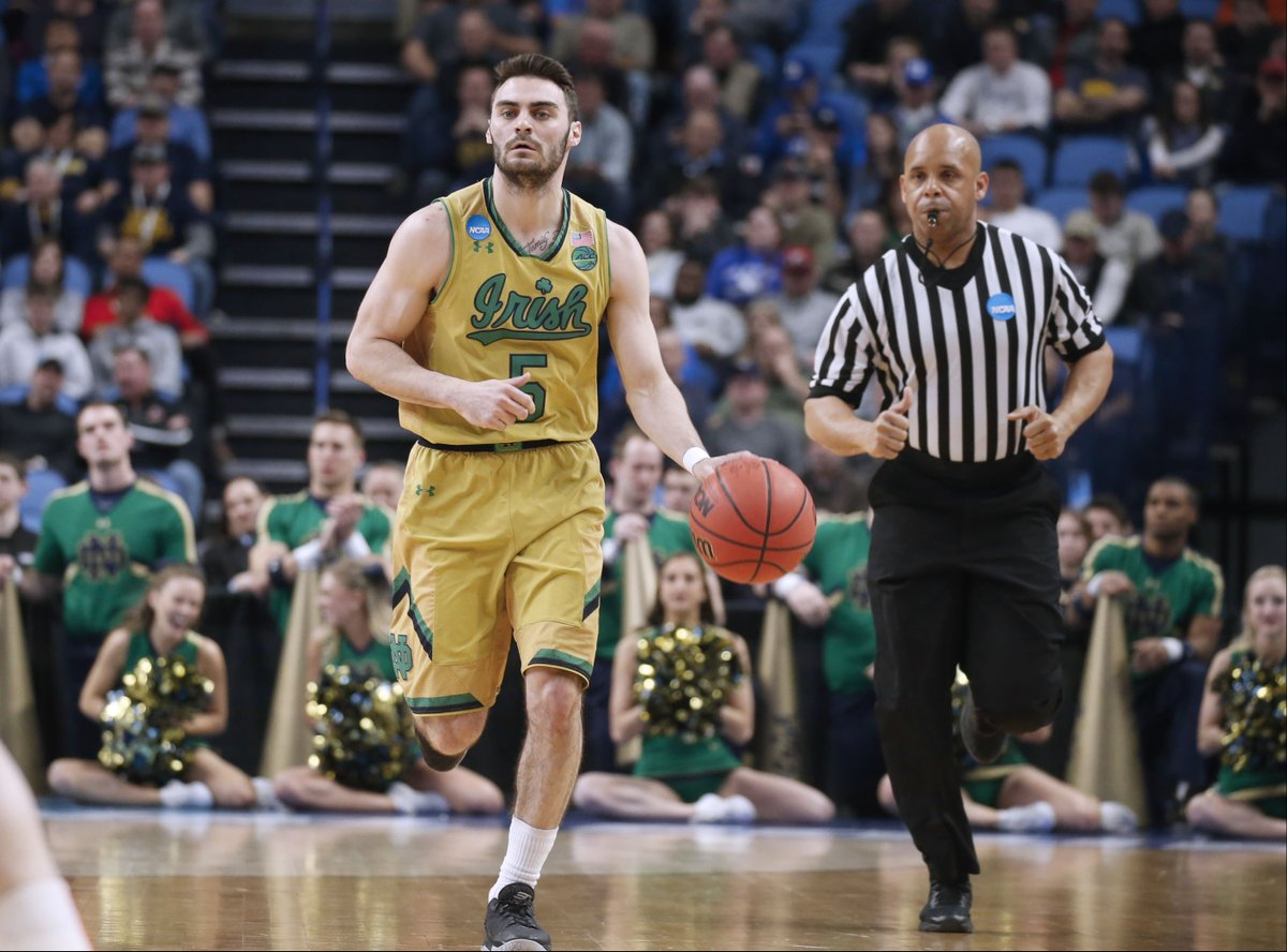 Notre Dame guard Matt Farrell playing pivotal role in NCAA Tournament (Robert Kirkham/Buffalo News)