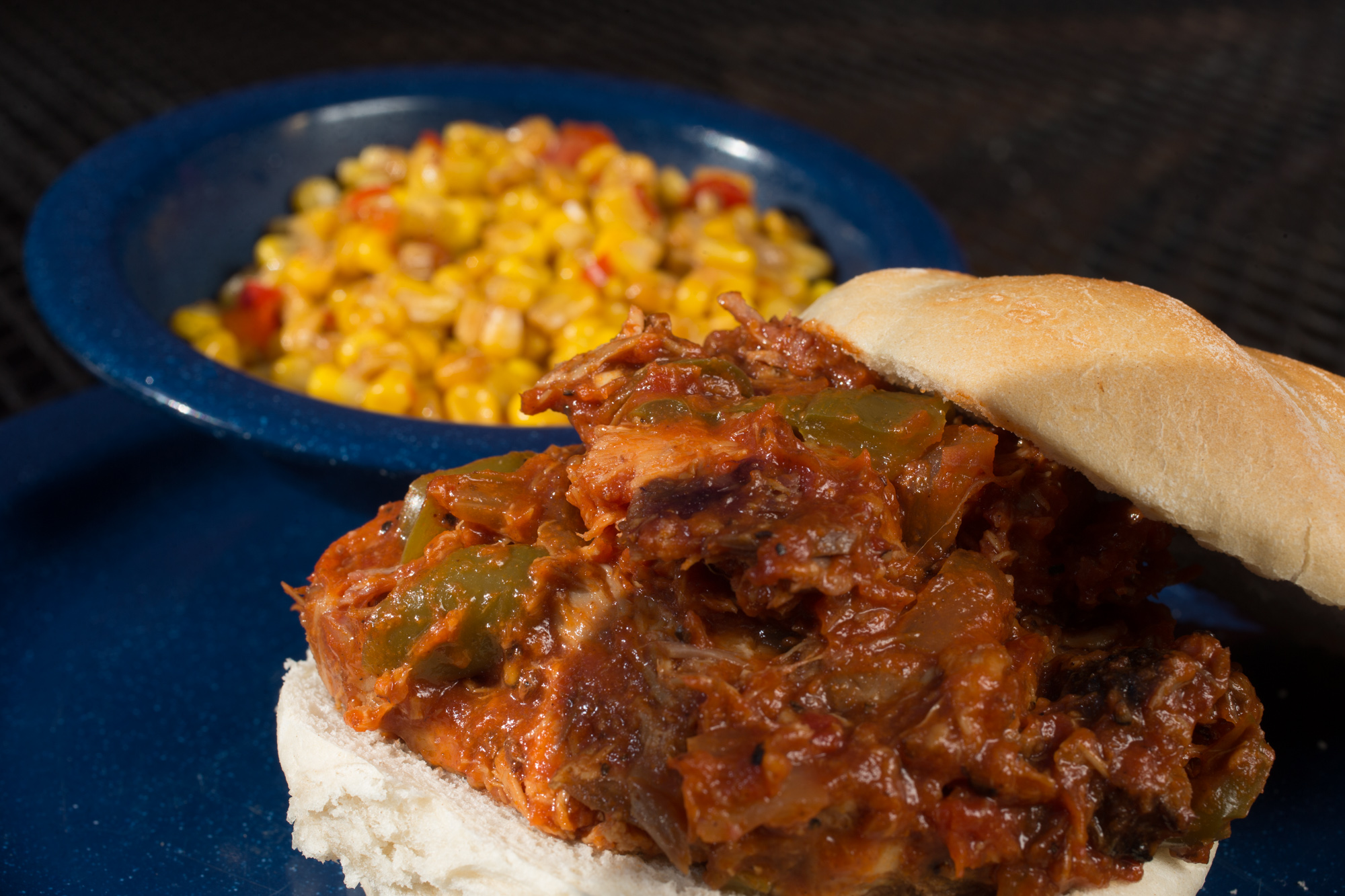 Fat Bob's Sloppy Bob is a twist on a traditional Sloppy Joe.  (Photo courtesy of Fat Bob's)