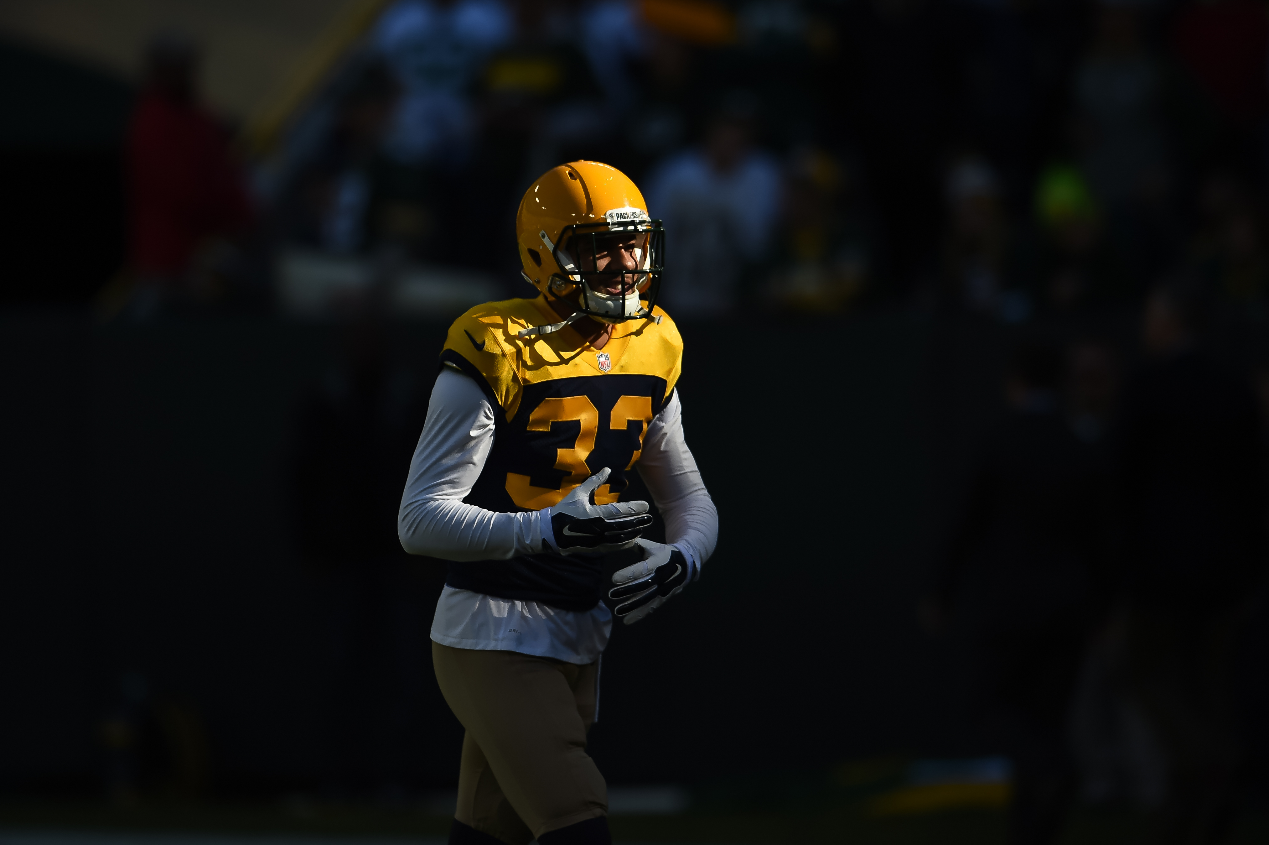 Former Packers defensive back, signed by the Bills on Thursday, can play a number of different roles in the secondary. (Getty Images)