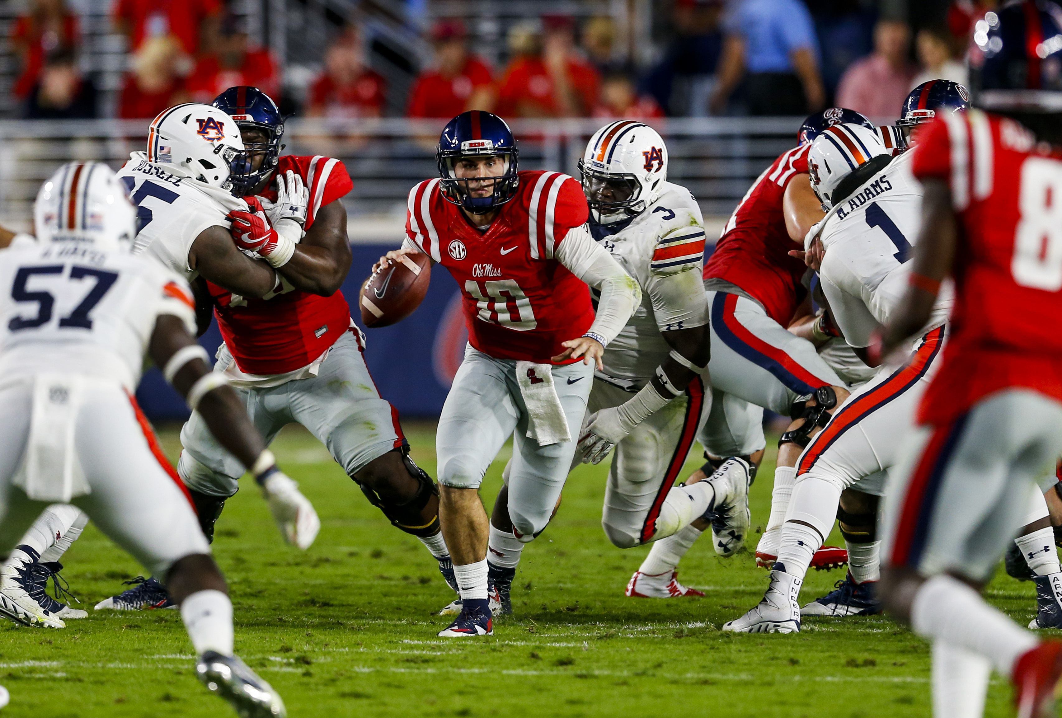 Chad Kelly hasn't played a game since Ole Miss, but he hopes that's about to change with Denver. (Getty Images)