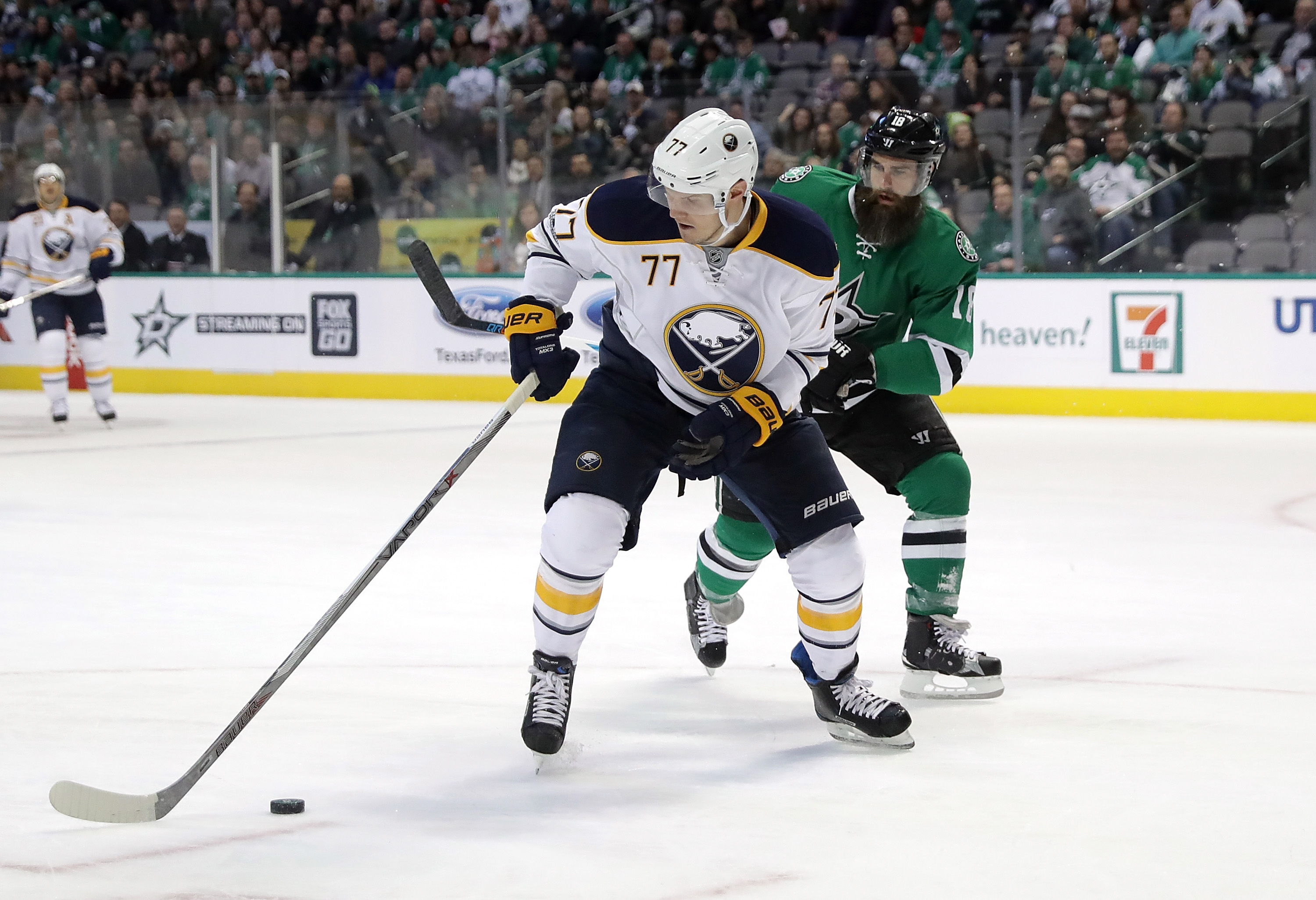 Dmitry Kulikov failed to move the trade needle. (Getty Images)