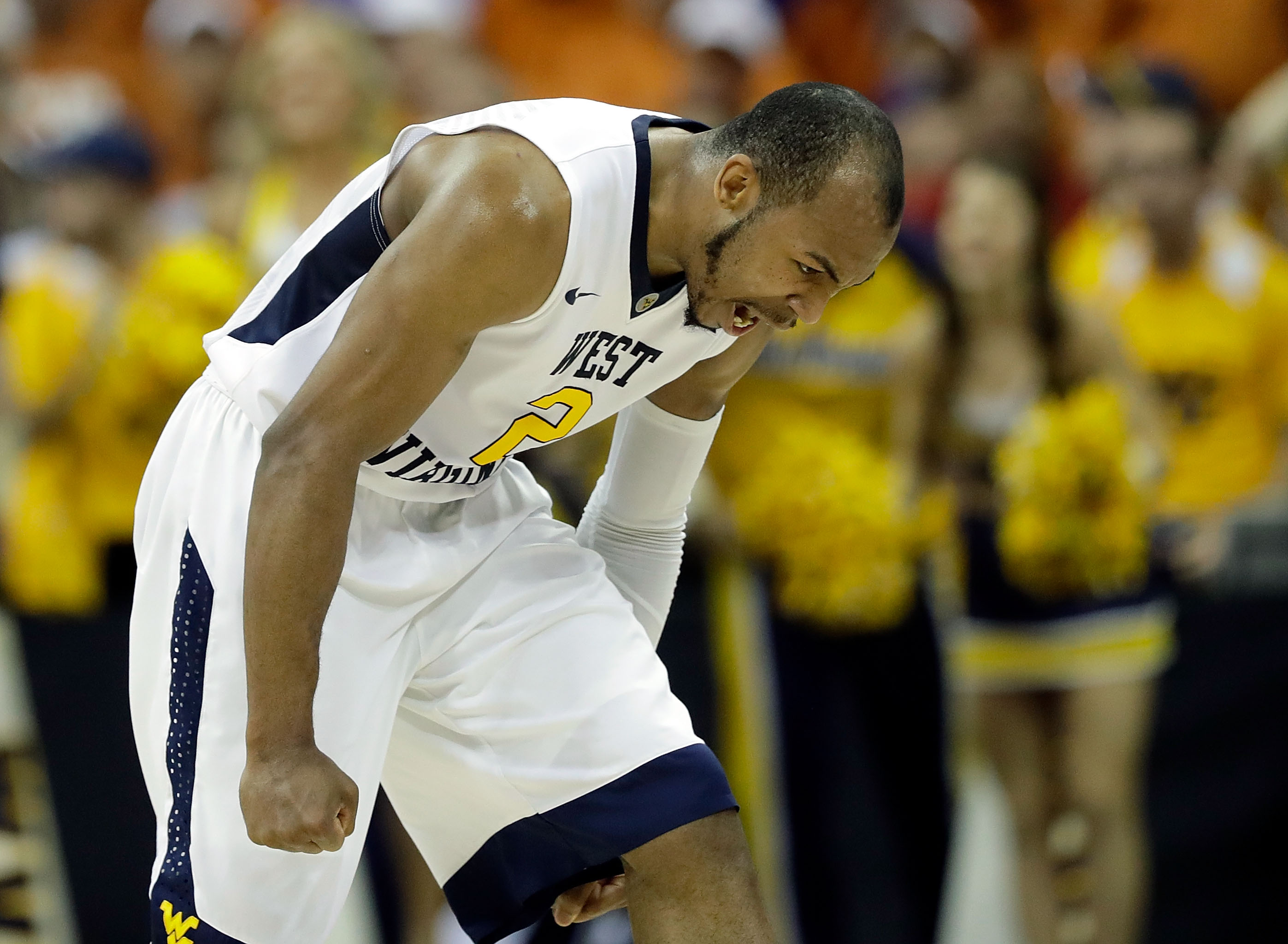 Jevon Carter is West Virginia's star point guard. (Jamie Squire/Getty Images)