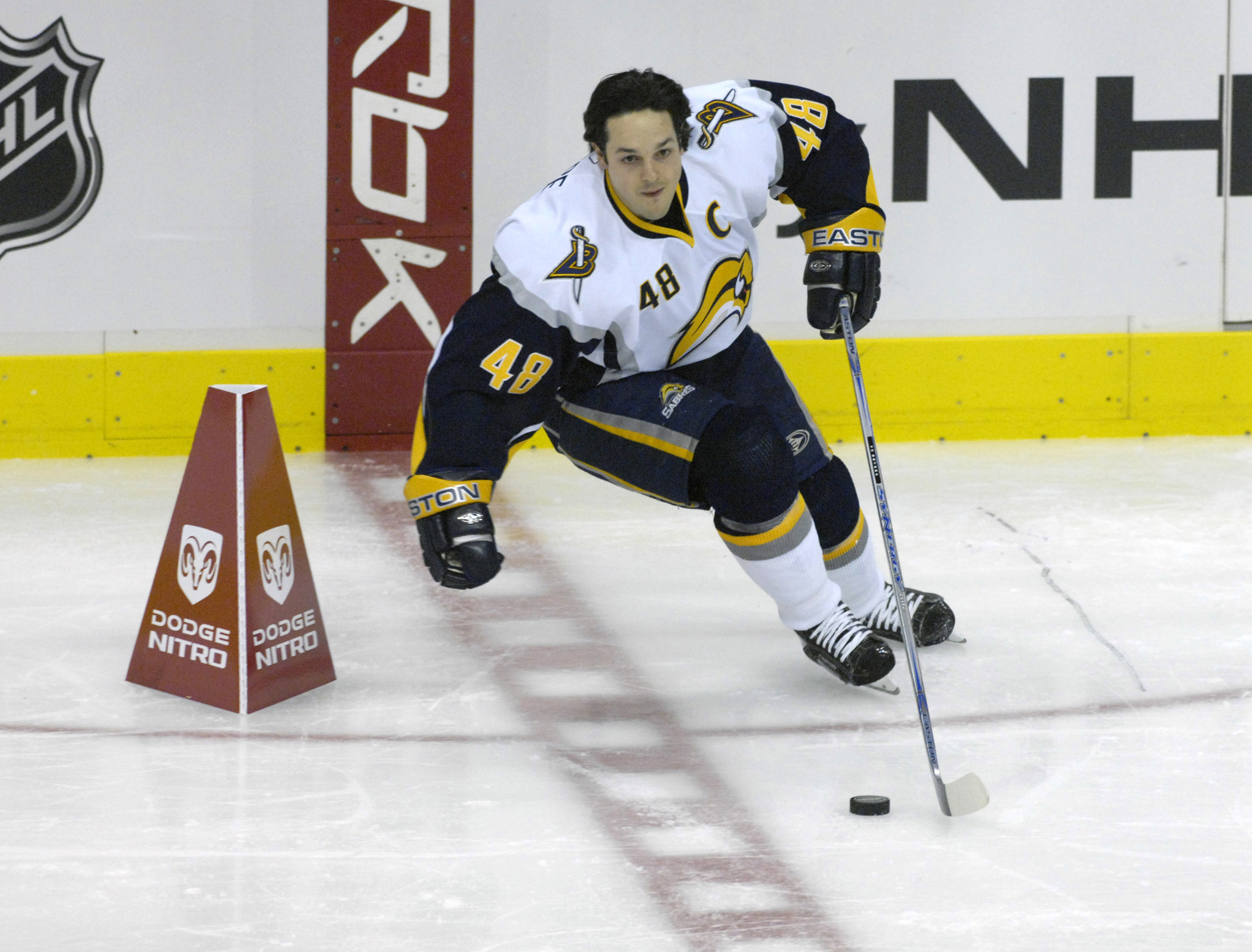 After being acquired in a selling year, Daniel Briere became an All-Star for Buffalo. (Getty Images)