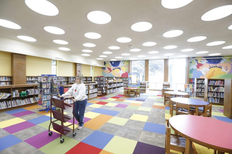 The Hamburg Public Library wants suggestions from parents on how to improve services.   (Robert Kirkham/Buffalo News)