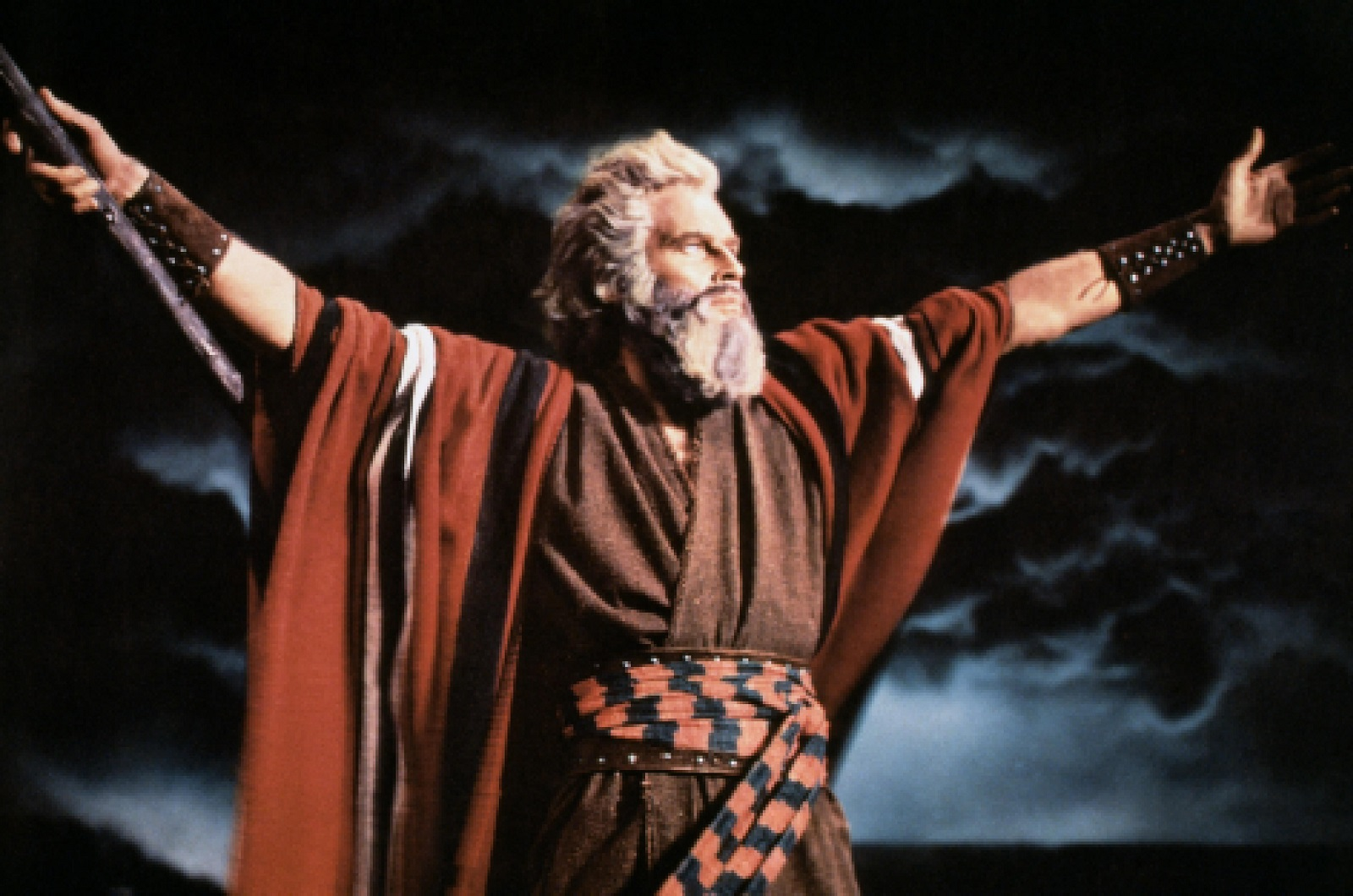 "Charlton Heston in ""The Ten Commandments"""