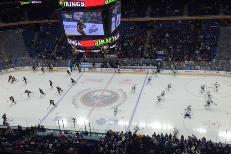 Live coverage: Toronto Maple Leafs at Buffalo Sabres