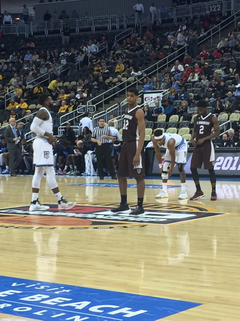 Bona and Rhode Island prepare for tipoff.