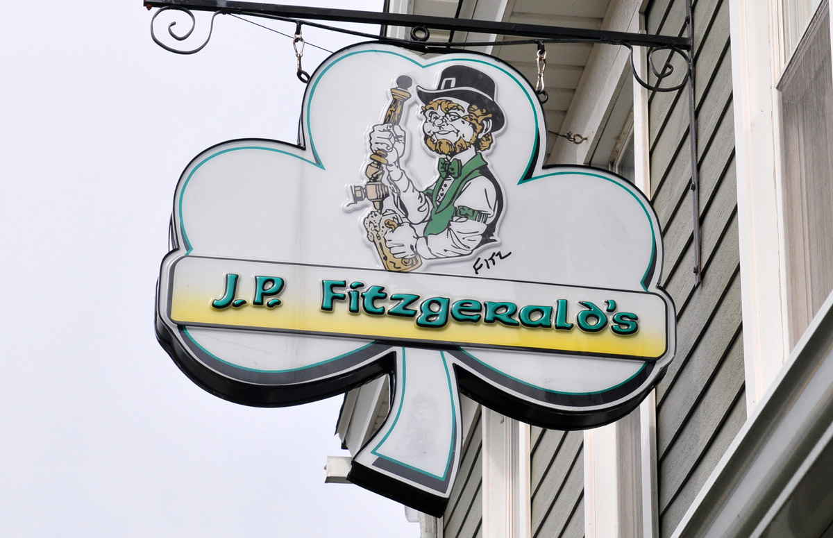 Hamburg's J.P. Fitzgerald's combines premium sports bar atmosphere with its longtime pub allure.