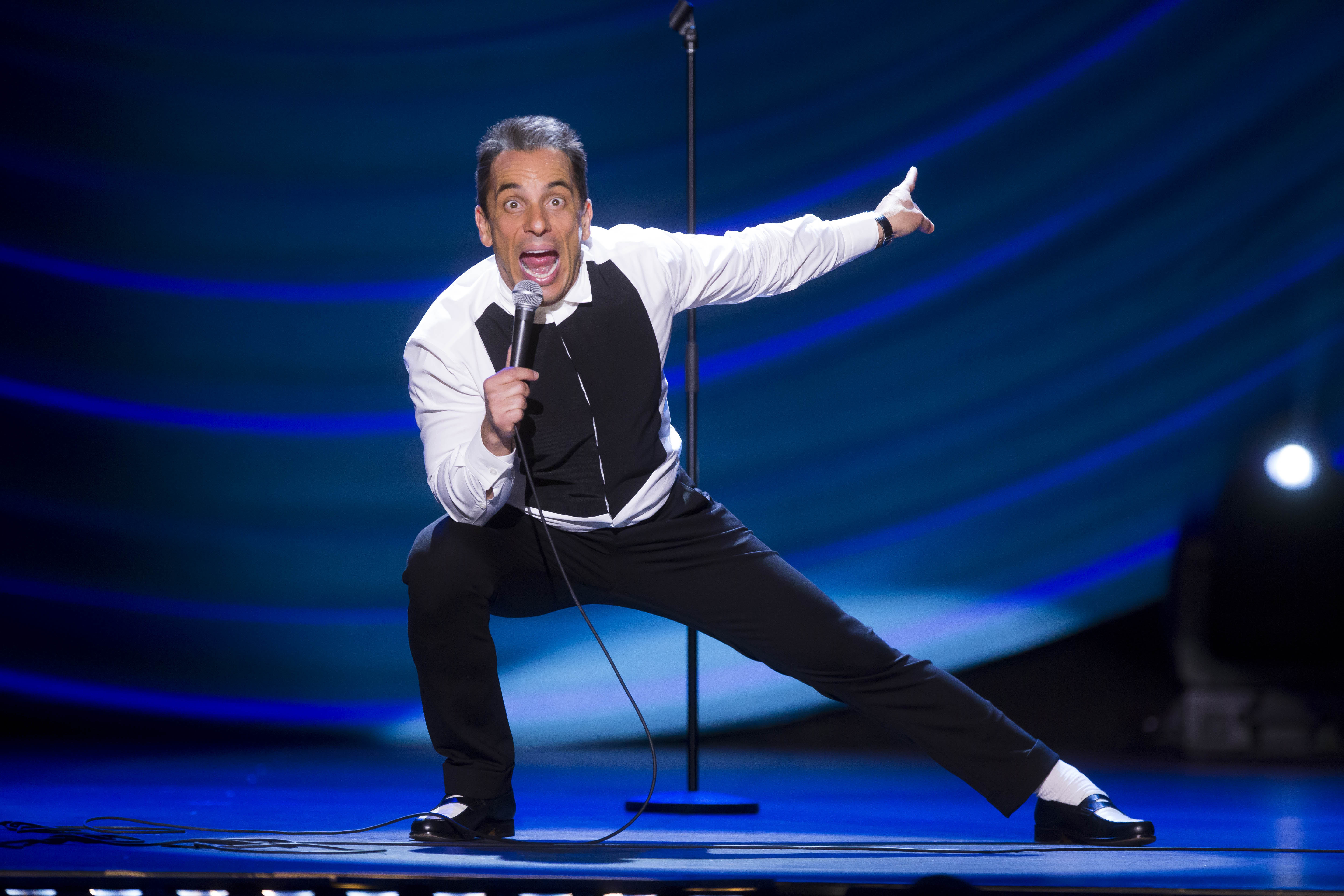 Sebastian Maniscalco headlines a sold-out show at Shea's Performing Arts Center. (Todd Rosenberg Photography)