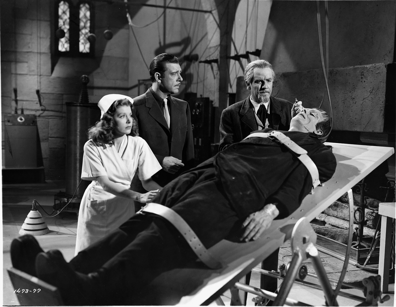 Lionel Atwill, second from right, was one of the stars of 'House of Dracula.' (News file photo)