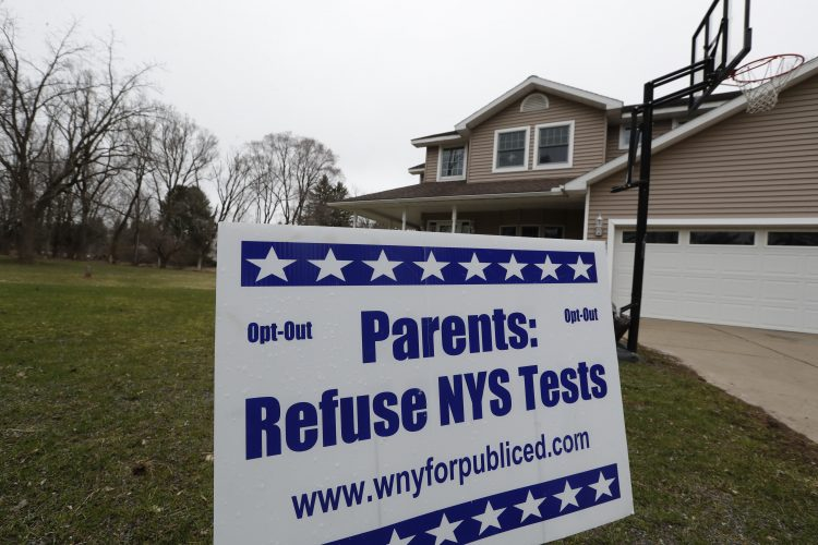 Anti-test movement strong, despite opt-out numbers decreasing in WNY