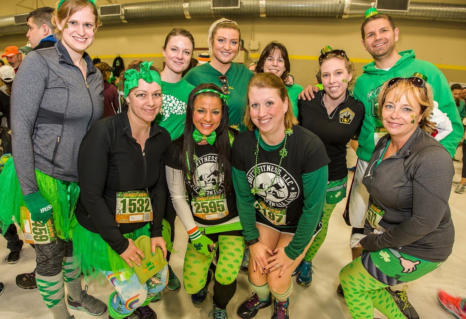 Smiles at the 2016 Shamrock Run after party. (Don Nieman/Special to The News)