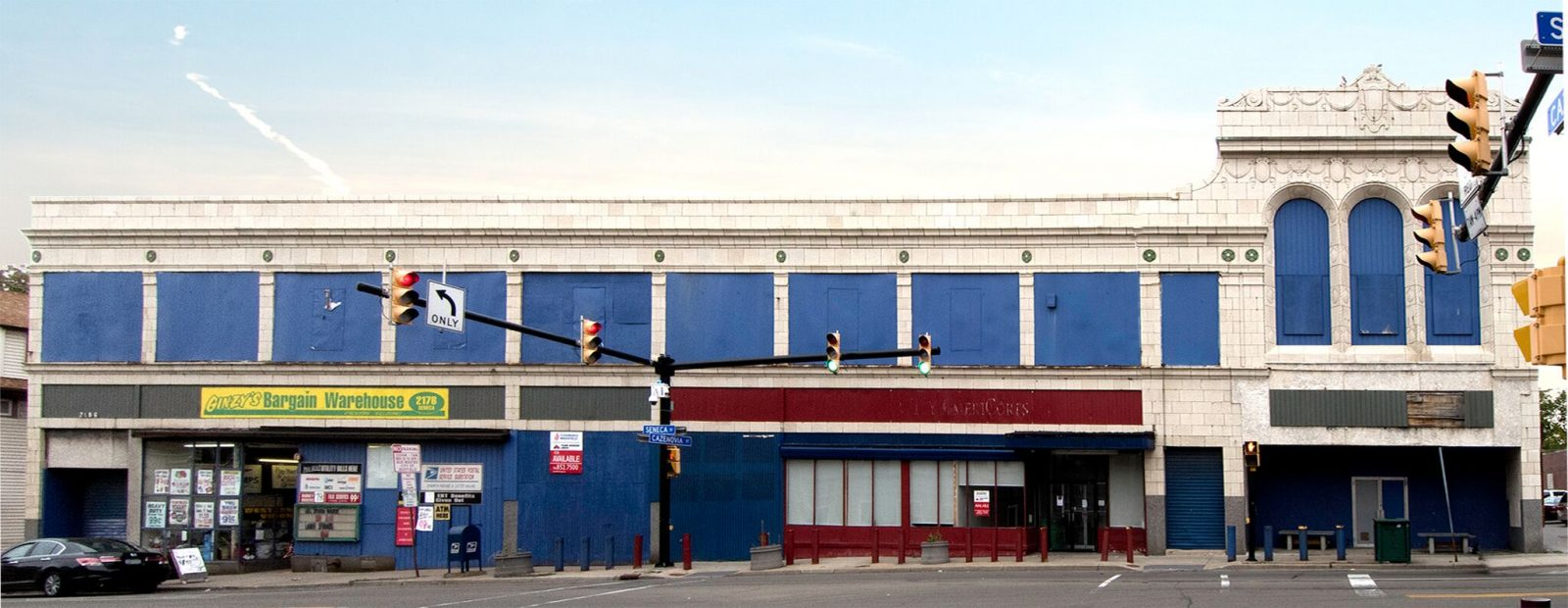 The exterior of Shea's Seneca Theatre today. (News file photo)