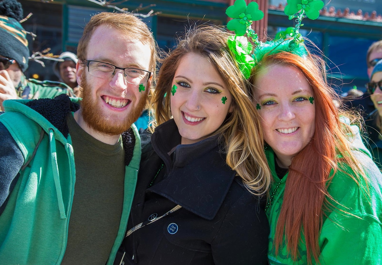 The St. Patrick's Day parade along Delaware Avenue leads off The 10 this week. (Don Nieman/Special to The News)