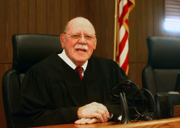 Town of Niagara Justice John P. Teixeira will retire at end of this year. (John Hickey/Buffalo News)