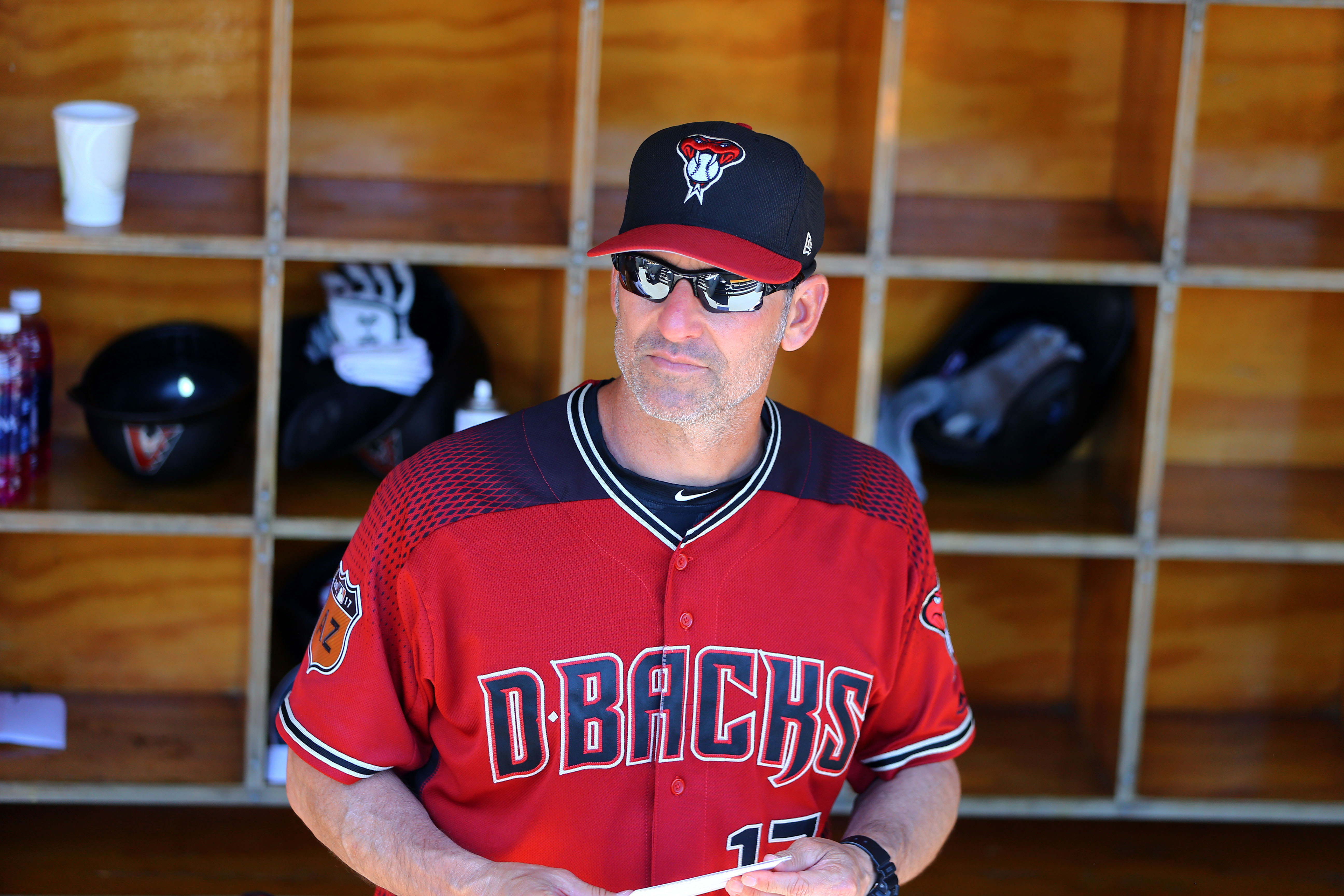 Torey Lovullo gets his first chance as a big-league manager with the Arizona Diamondbacks (Mark J. Rebilas-USA TODAY Sports).