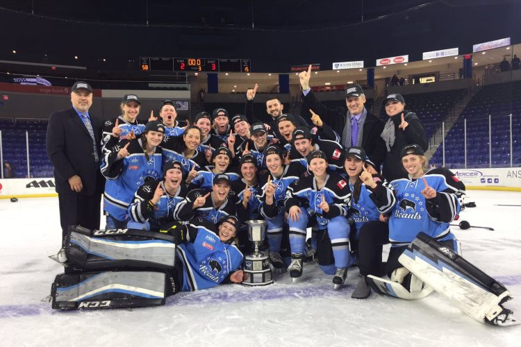 McLaughlin caps her hockey career with an MVP honor and NWHL title with the Buffalo Beauts