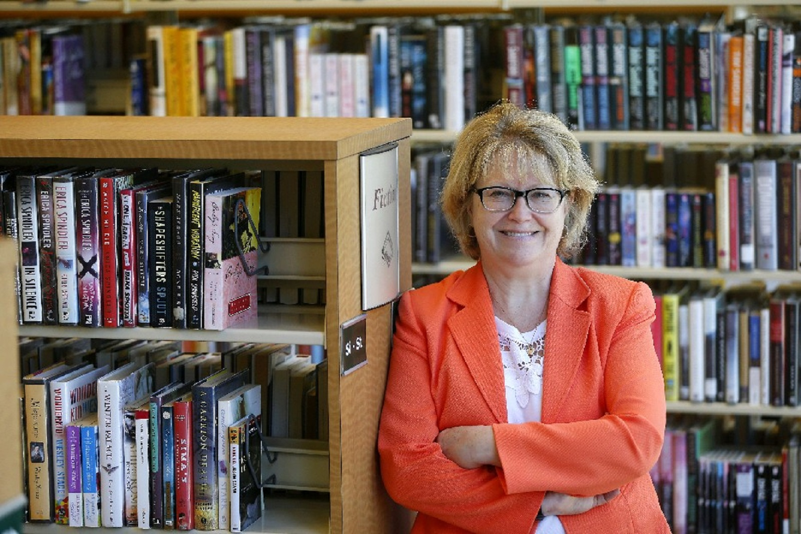 Buffalo and Erie County Public Library System Director Mary Jean Jakubowski and her colleagues at the Central Library will host two important family events this week. (Mark Mulville/Buffalo News file photo)