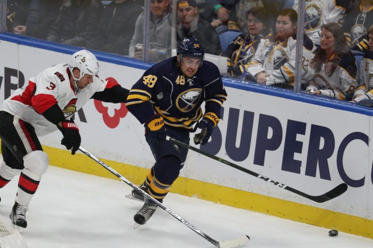 After setbacks, William Carrier ready to return to Sabres lineup