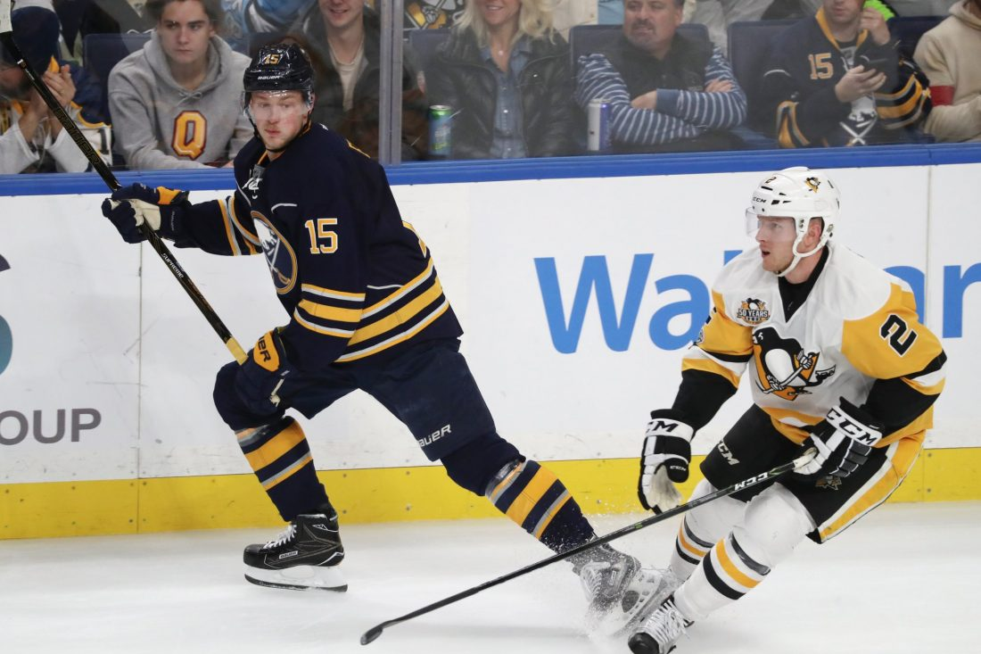 National Hockey League  to hold hearing on Sabres' Ristolainen's hit on Guentzel
