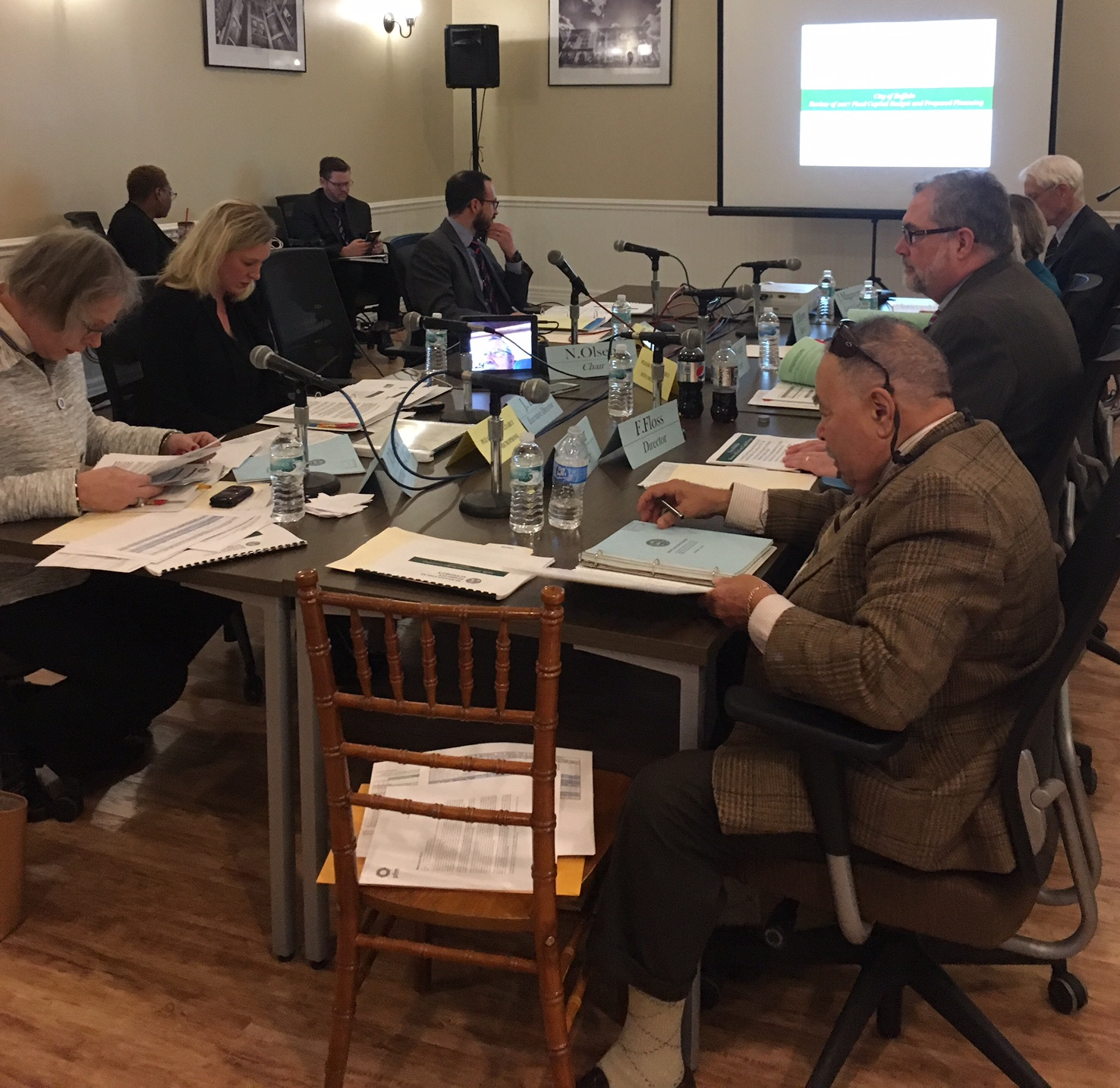 March 8, 2017 Control Board meeting
