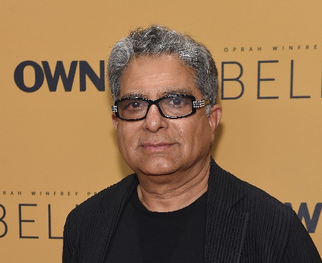 At 70, 'My spirit is ageless. My body is not,' says Deepak Chopra, who will visit the WNED-TV studio in Buffalo next week. (Jamie McCarthy/Getty Images)