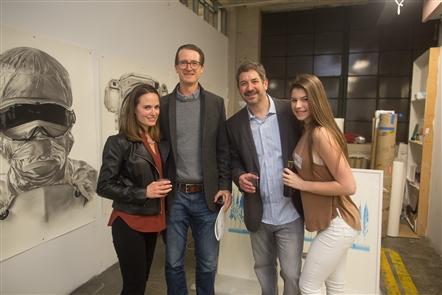 Smiles at CollectX25 at Buffalo Arts Studio