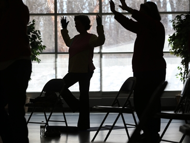 Senior center keeps Amherst residents on the move