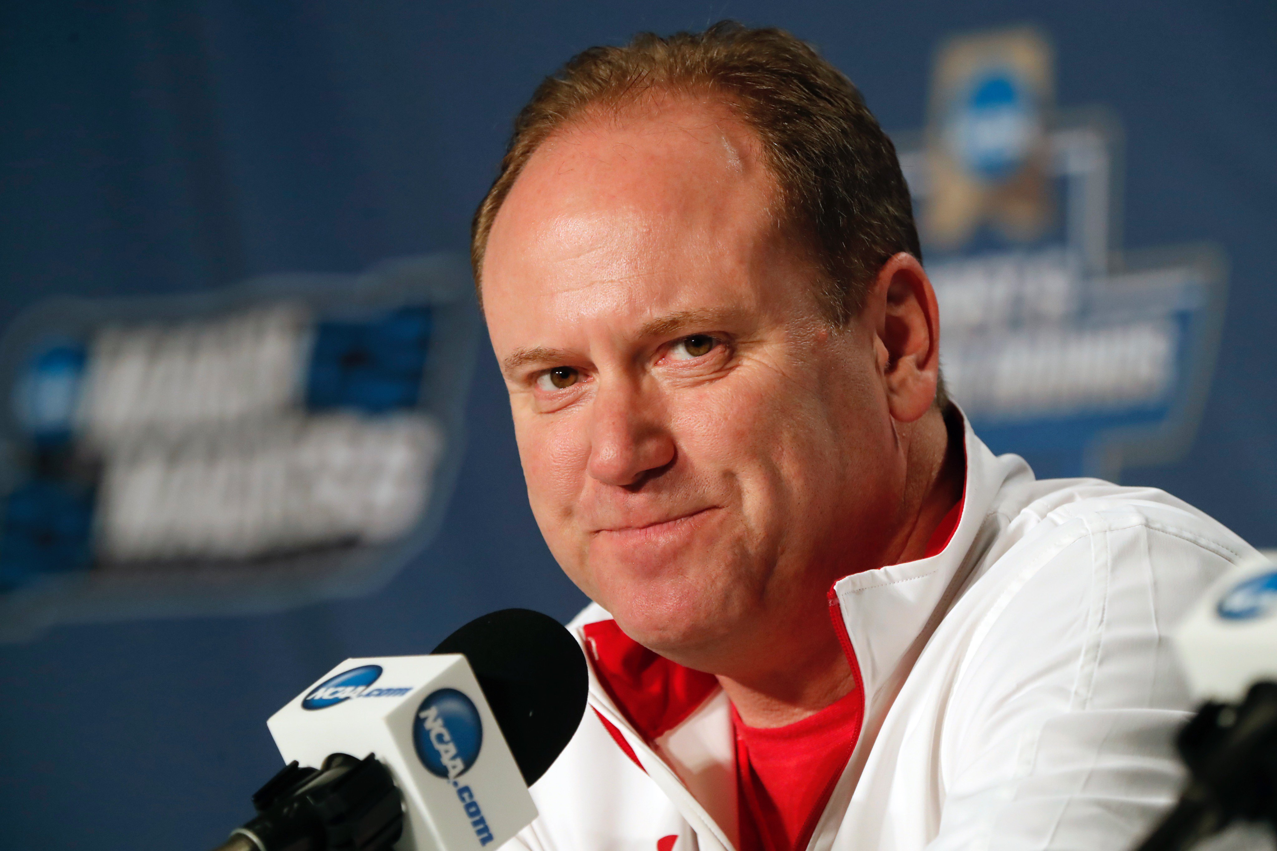 Wisconsin native Greg Gard has lived the downs and ups of the Badgers. (Harry Scull Jr./Buffalo News)
