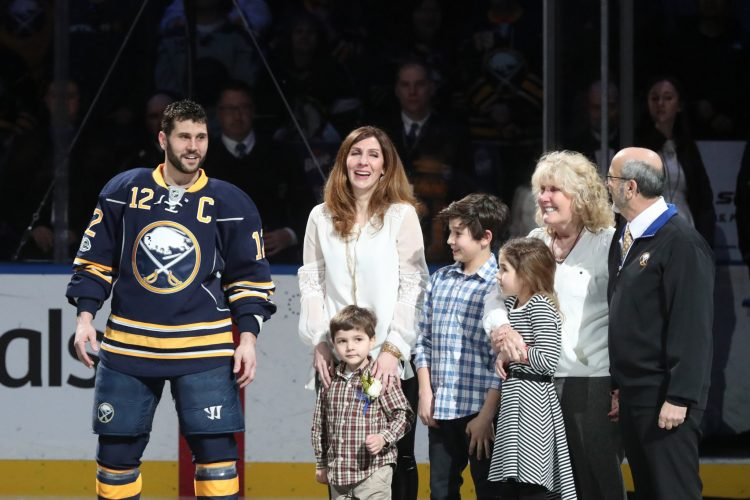 Sabres Notebook: One thousand games covered a lot of life for the Gionta family