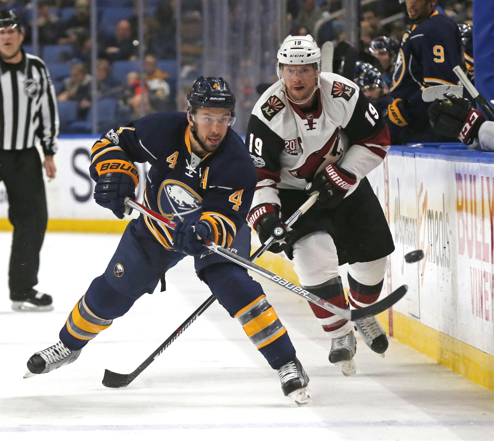Josh Gorges says the Sabres just don't do enough to earn a win. (Robert Kirkham/Buffalo News)