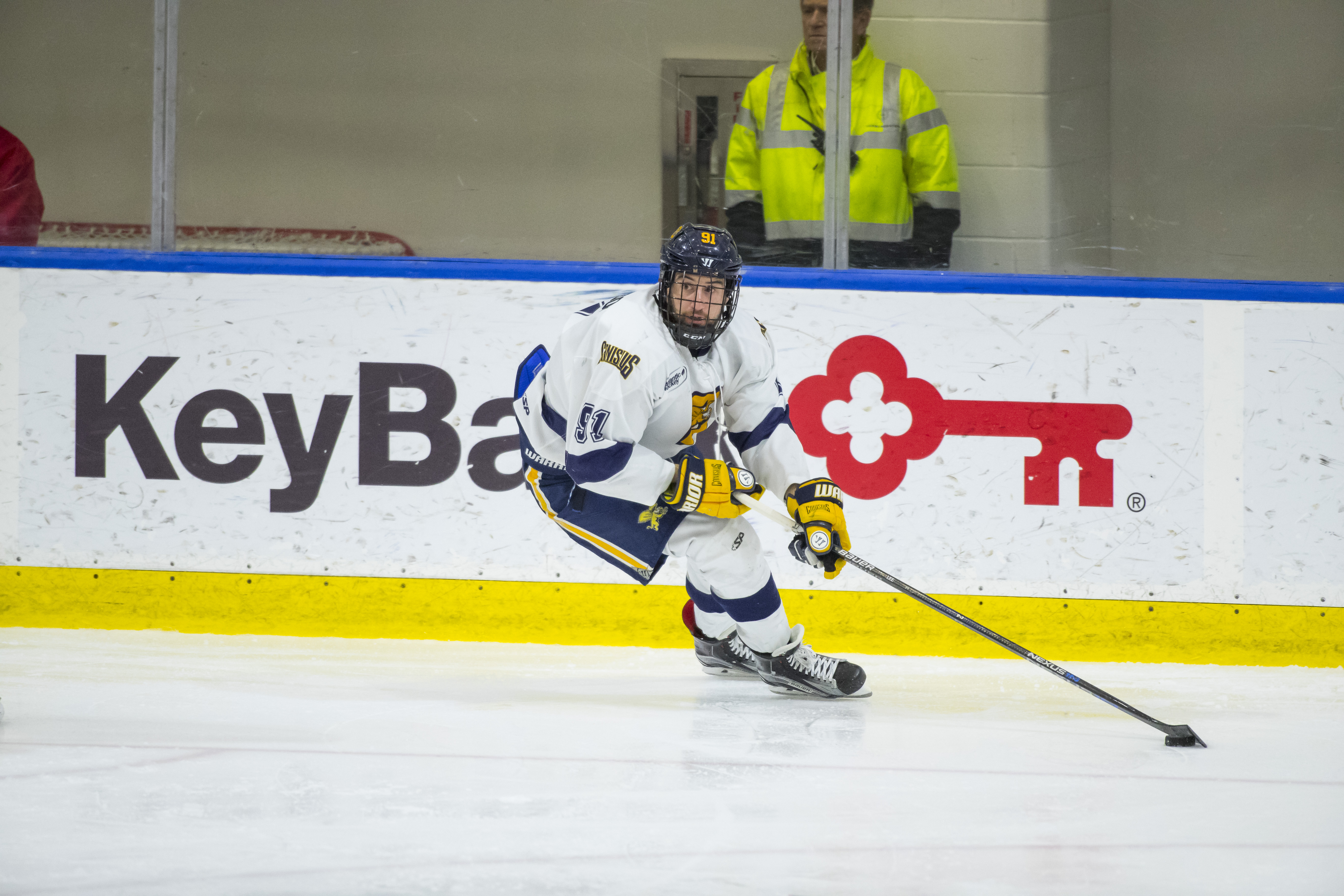 Nick Hutchison scored what proved to be the game-winner for Canisius. (Canisius Athletic Communications)