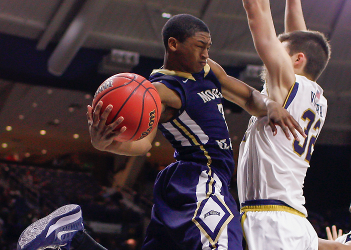 Muggsy Bogues doesn't view Mount St. Mary's guard Junior Robinson as a short-time star