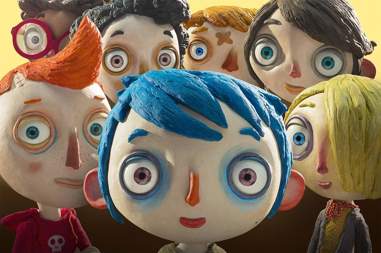 The French animated feature 'My Life as a Zucchini' is a touching film.