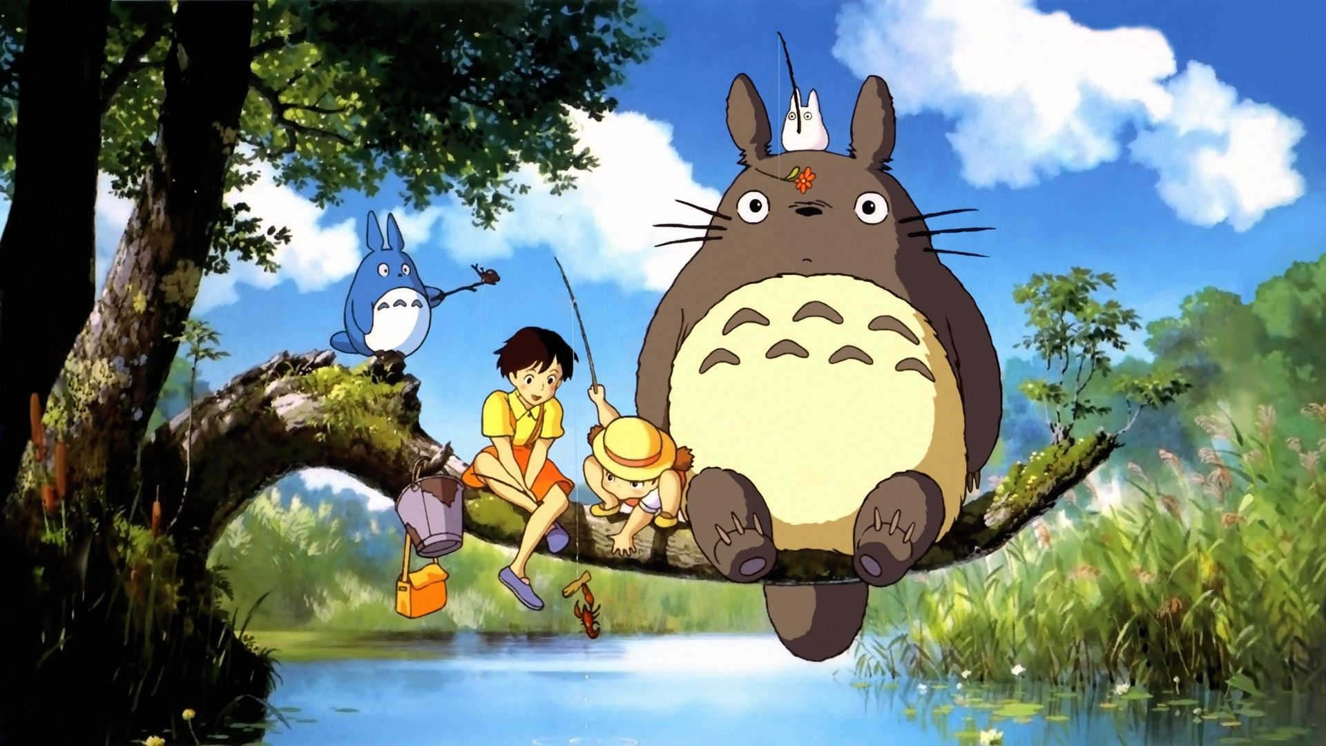 "Studio Ghibli's ""My Neighbor Totoro"" will be shown April 9 at the North Park Theatre."