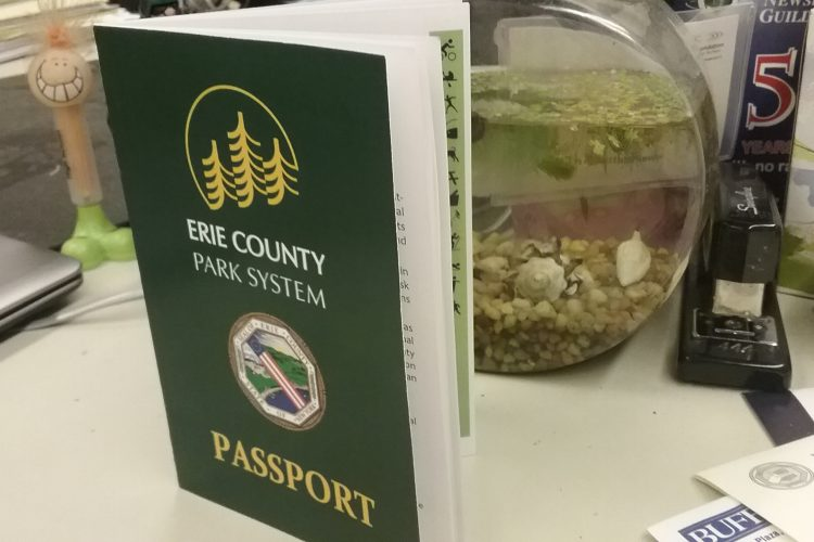 This year's State of the County giveaway is ... passports to parks