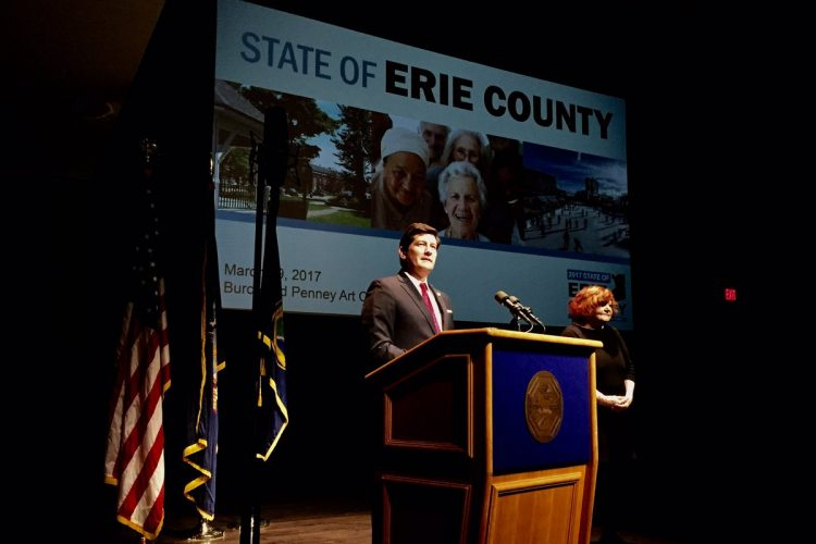 Poloncarz in his State of the County address: 'We will steer our own course'