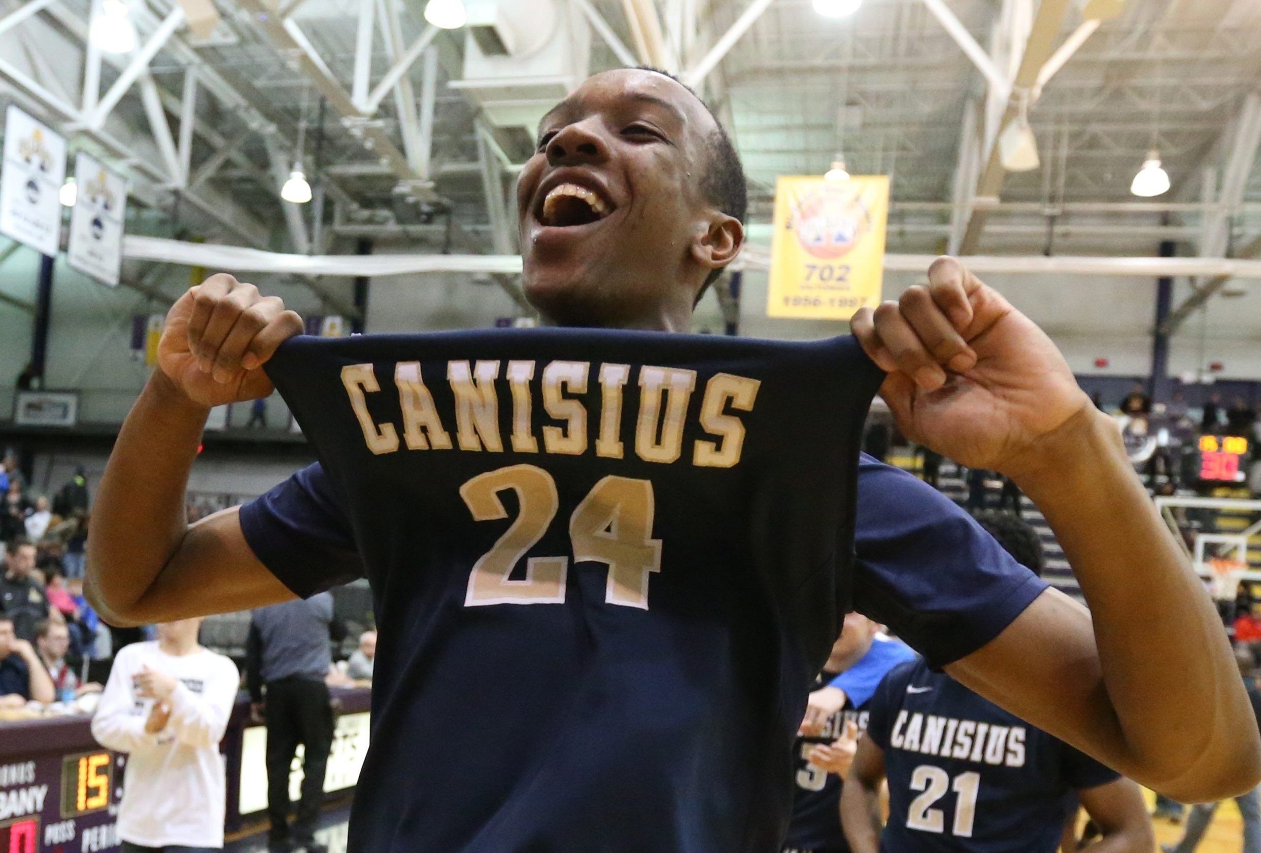 Canisius is among the area teams that have reached the end-of-season New York State Federation Tournament of Champions event over the years, winning the Class A title in 2015. (James P. McCoy/Buffalo News file photo)