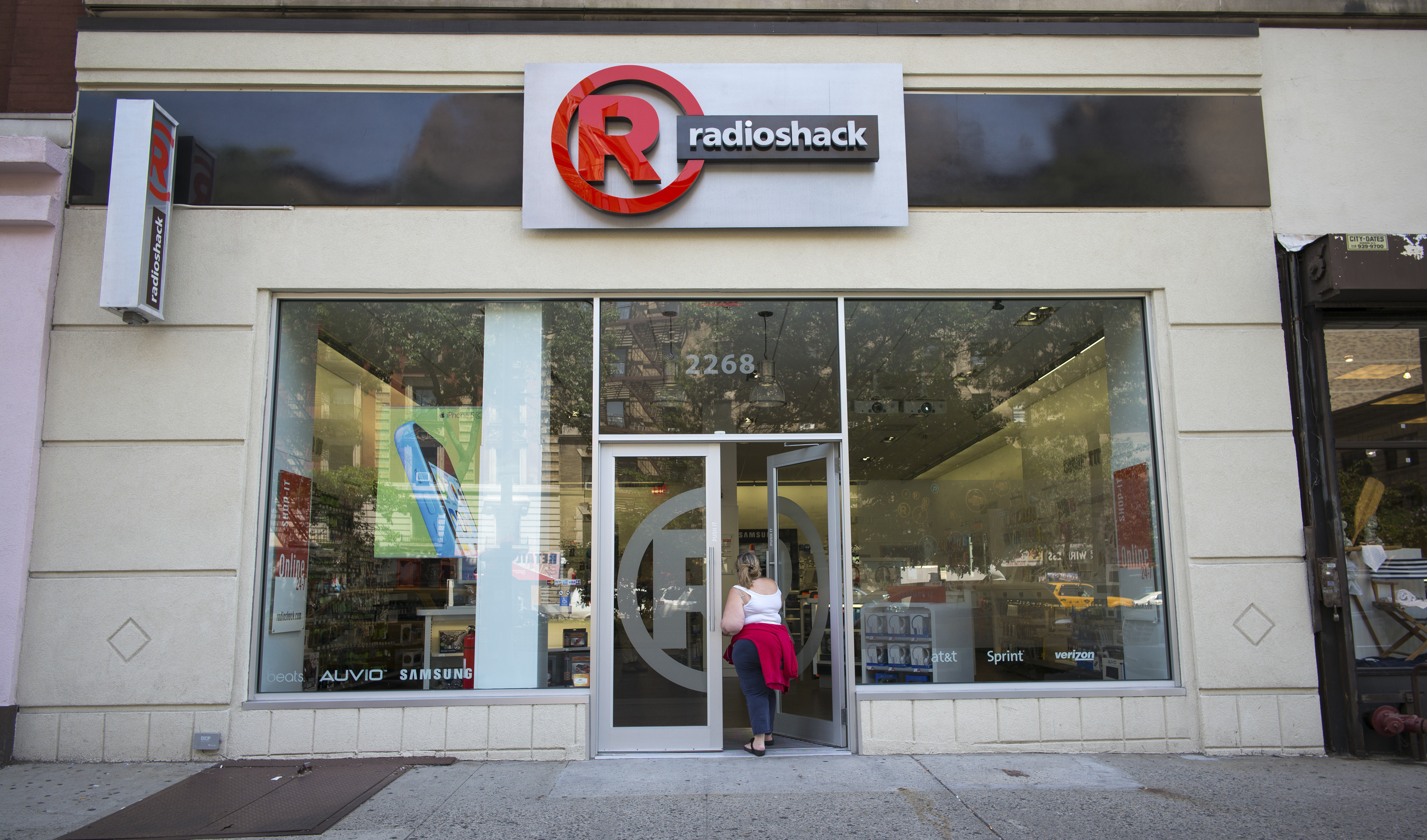 A remodeled RadioShack store in Manhattan. RadioShack flourished when consumers fixed or tinkered with their own electronics and gadgets, but now the appetite for those kinds of parts is a fraction of what it once was. (Angel Franco/The New York Times)
