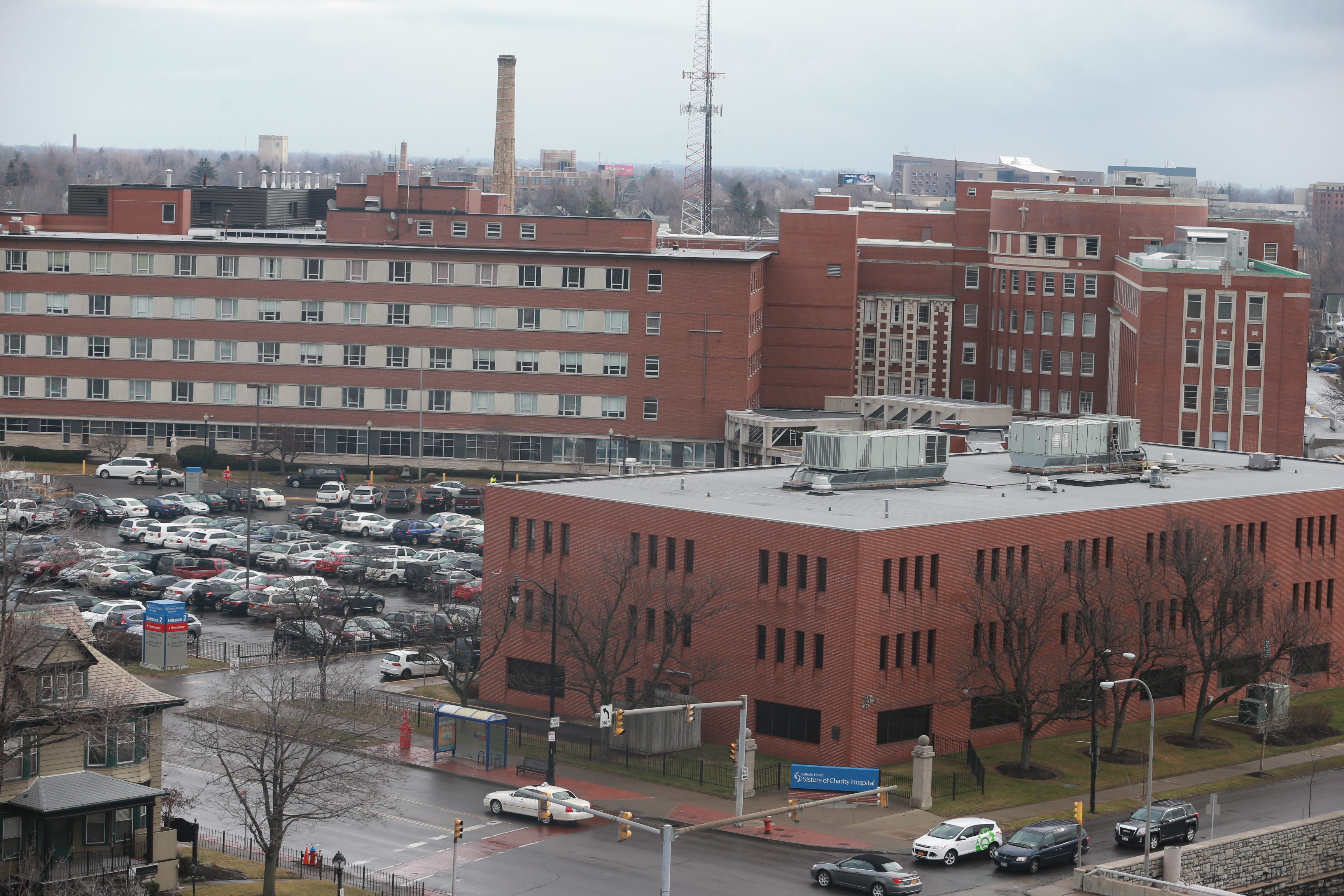 Catholic Health hospital system announced Monday it had named a new president and CEO of Sisters of Charity Hospital.  (John Hickey/Buffalo News file photo)