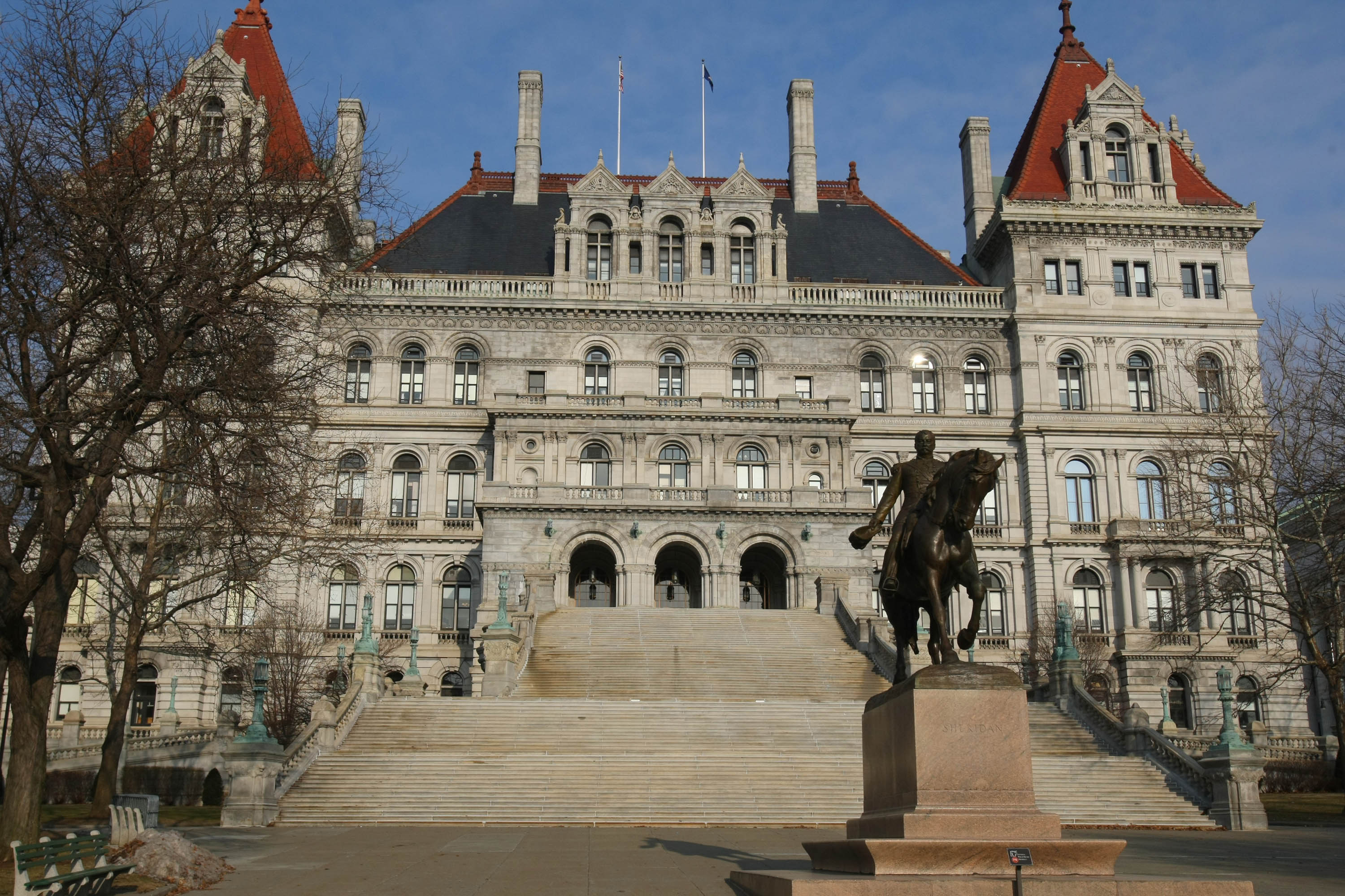 Most states commence their fiscal years on July 1, according to the National Conference of State Legislatures. New York, at April 1, is the nation's earliest among the states. (Getty Images)