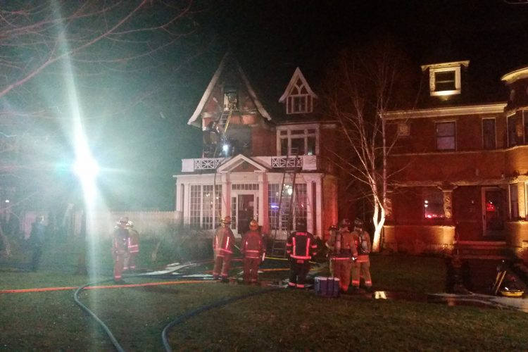 Damages estimated at $1 million in fire at Symphony Circle house