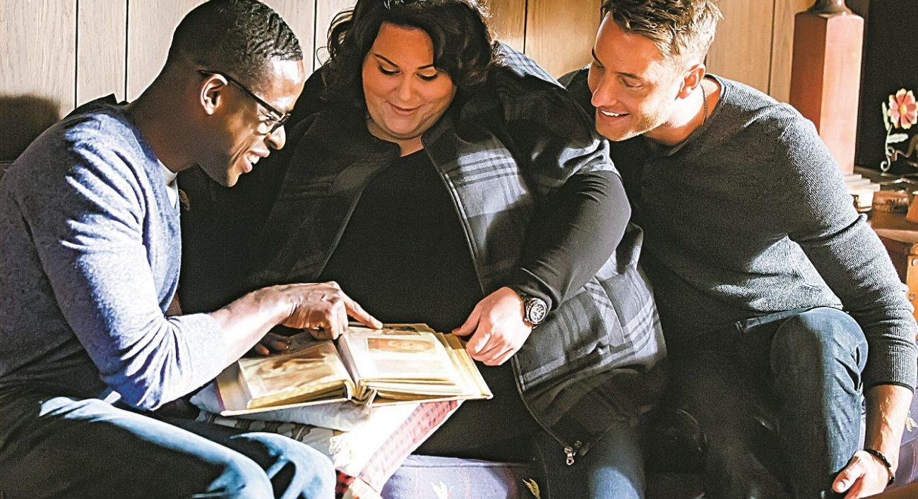 "Sterling K. Brown as Randall, Chrissy Metz as Kate, Justin Hartley as Kevin from ""This Is Us"" (Ron Batzdorff/NBC)"