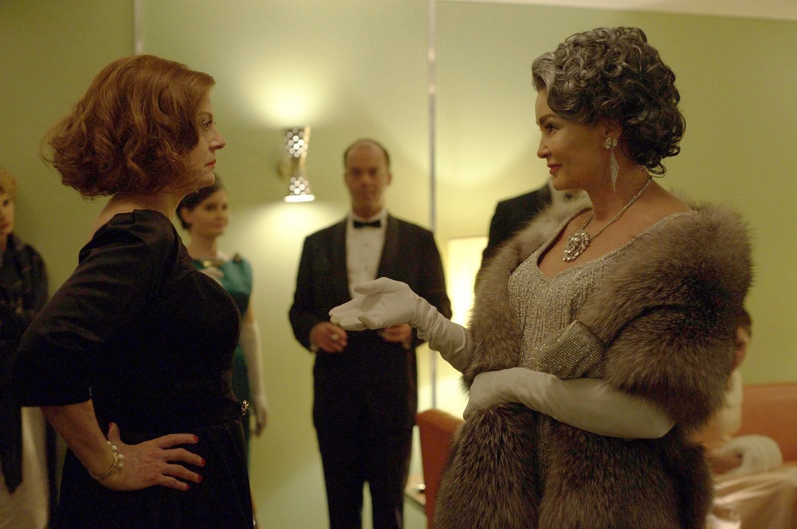 "Susan Sarandon, left, with Jessica Lange in ""Feud."" (Suzanne Tenner, FX)"