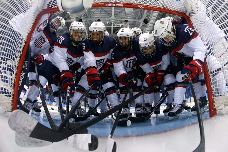 Amy Moritz: History has its eyes on U.S. women's hockey