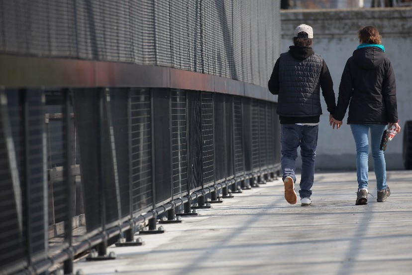 The University at Buffalo and the Wellness Institute of Greater Buffalo each challenge those in the region to to take steps to help them with upcoming walking challenges. (Derek Gee/Buffalo News)